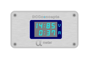 DCC Concepts Alpha Meter For DC or DCC