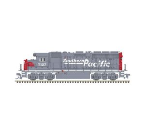 Atlas N Scale Master EMD GP40 Silver Southern Pacific #7138 DC DCC Ready 40004163