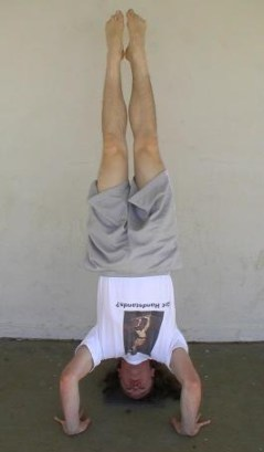 The headstand position
