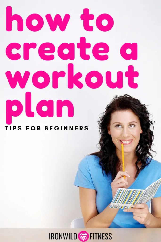 how to create a workout plan for the gym or home