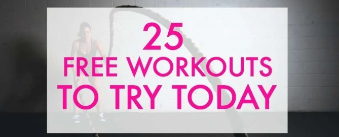 Want to try some free workouts?