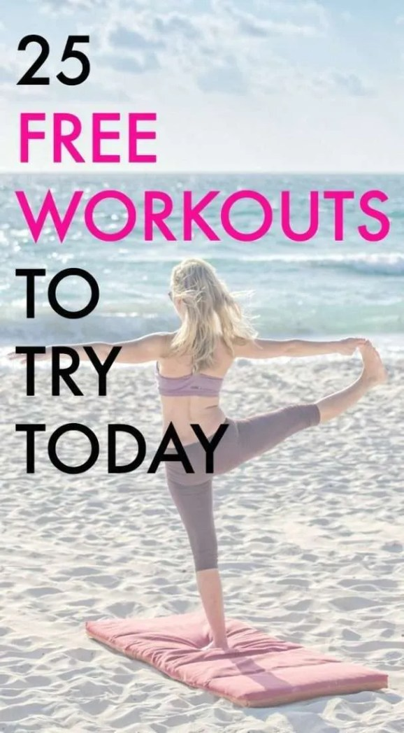 Looking for free workouts? These workouts come from fitness bloggers - no fees or subscriptions necessary!