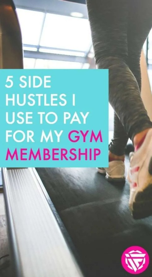 Looking for legitimate side hustles? Here are the legitimate survey sites, cash back apps, and other ways I make money online to pay for my gym membership.