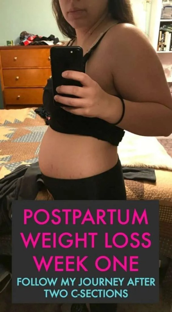 Postpartum weight loss journey after two c-sections. I am starting at 163lbs this week and I've got a lot to lose. I just became a personal trainer and I'm sharing my workouts, food, and other plans to lose the baby weight.