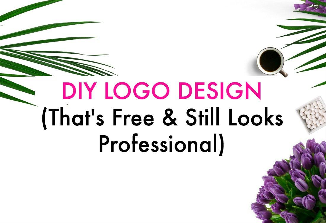 DIY Logo design that's free and still looks pro