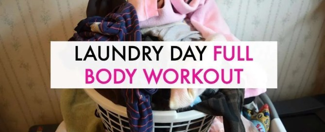 Laundry day full body workout by Ironwild Fitness