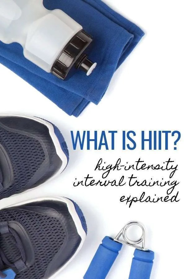 HIIT for beginners - high intensity interval training for beginners