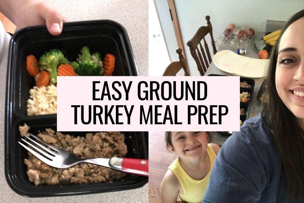 easy ground turkey meal prep