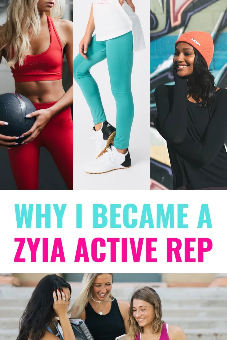 why I became a ZYIA Active rep