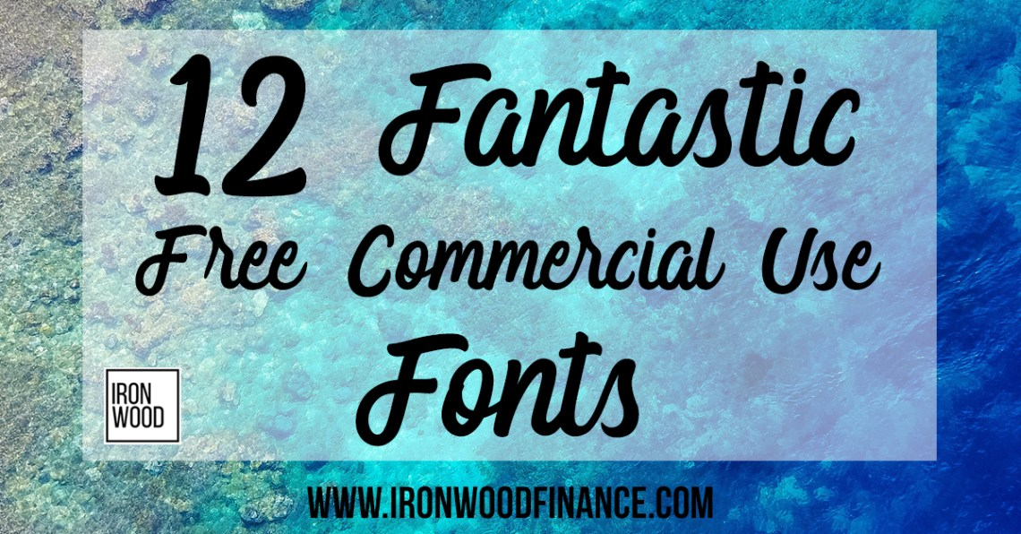 Download Free Commercial Use Fonts - 12 Great Typefaces for Small ...
