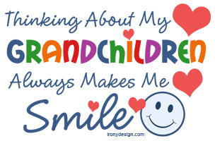 Thinking about my grandchildren always makes me smile Merchandise.