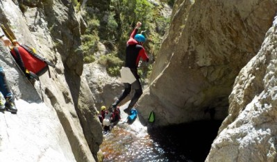 Canyoning au Gourg des Anelles