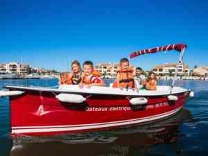 Balade bateaux électriques