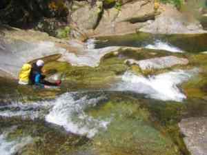 exterieur nature canyoning