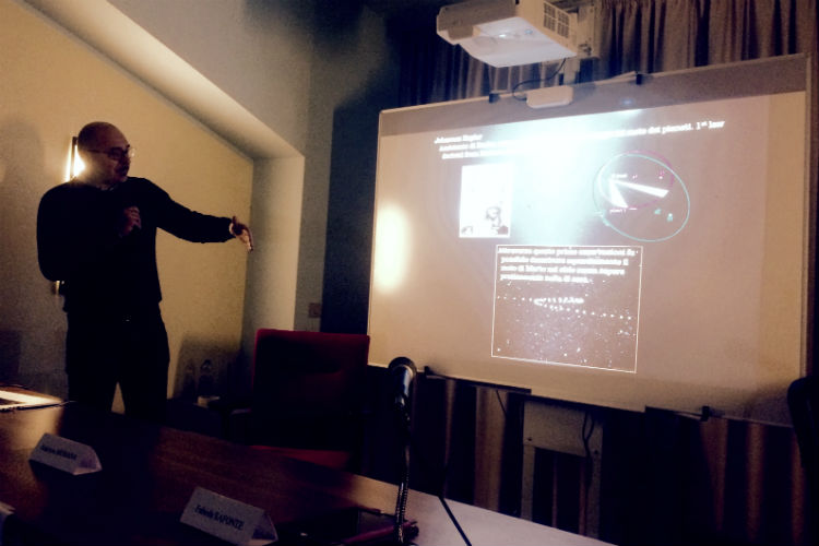 Osservatorio Astronomico di Montedoro - IRPAIS - John Robert brucato