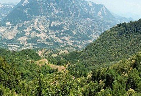 Veduta della Valle del Sele