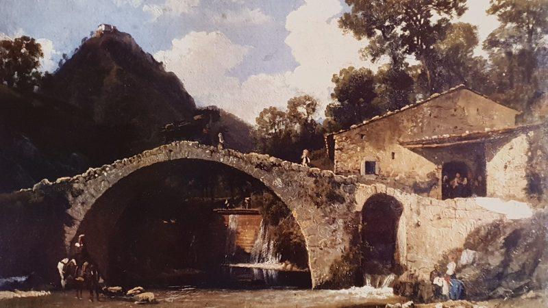 Il ponte del molino- Nicola Palizzi