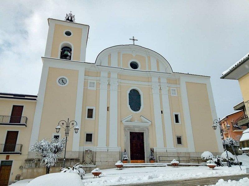 Monumentale Collegiata Maria SS.ma Annunziata- Pietradefusi
