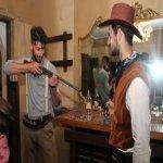 saloon scenografia