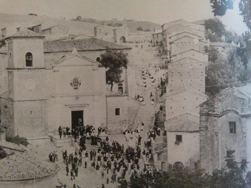 Piazza Neviera di Gesualdo '900