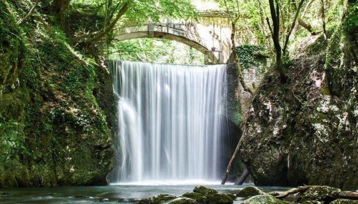 """Ponte e cascata del """"Fascio"""""""