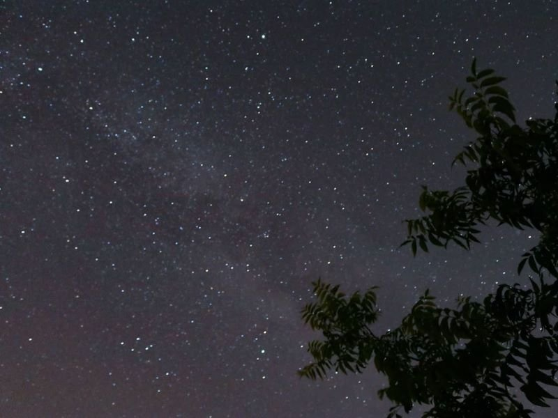 Campeggio sotto le stelle