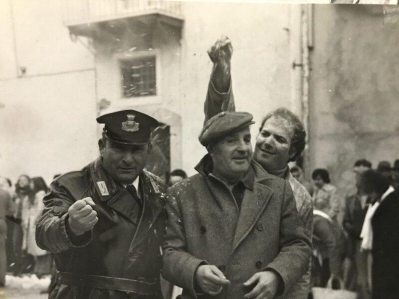 Carnevale del 1979 Frigento