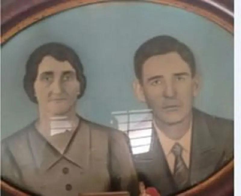 Un ritratto di Mario de Fasio e Thereza Factor conservato dai suoi bisnipoti brasiliani