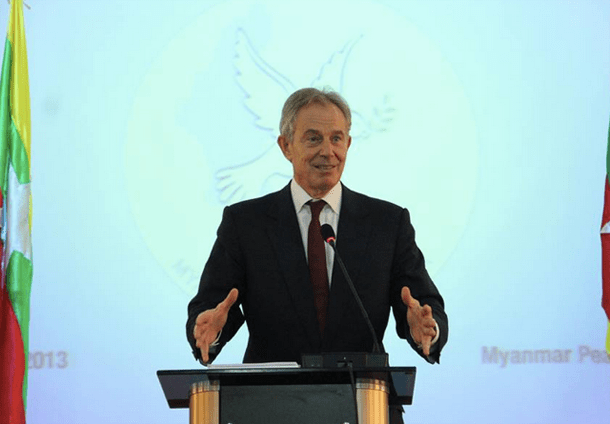 Tony Blair, Myanmar, Burma, Myanmar Peace Center, MPC,