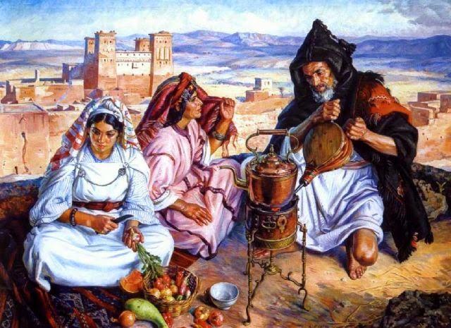 8 sublimes tableaux de Louis John Endres sur les Amazighs (1926)