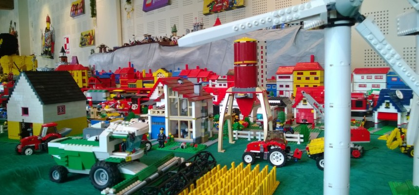 Une exposition Lego