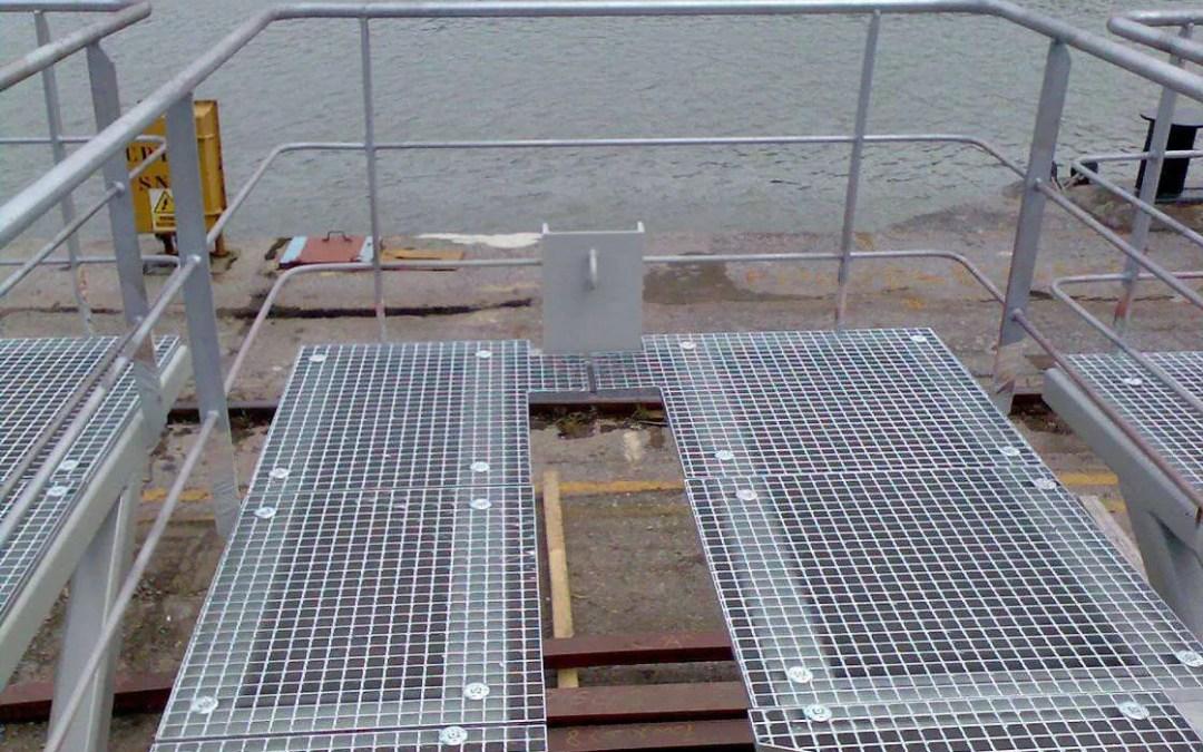 Plataforma en cubierta