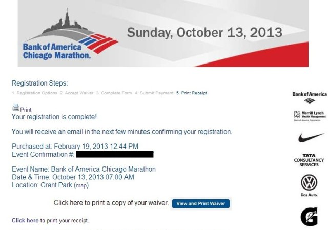 Successfully registered!