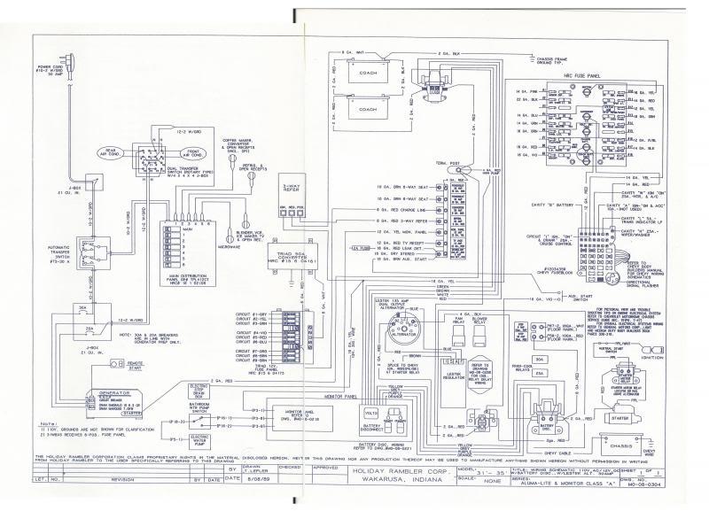 1987 Imperial Holiday Rambler Wiring Diagram Holiday