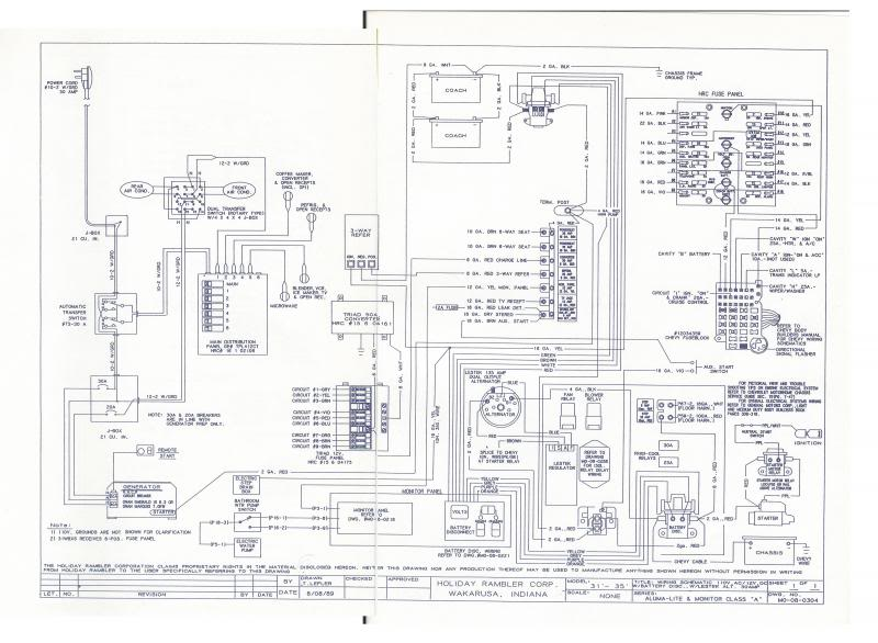 1987 imperial holiday rambler wiring diagram holiday