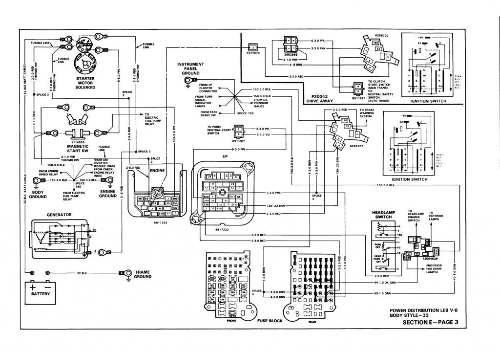 1990 Fleetwood Motorhome Electrical Diagram : 43 Wiring