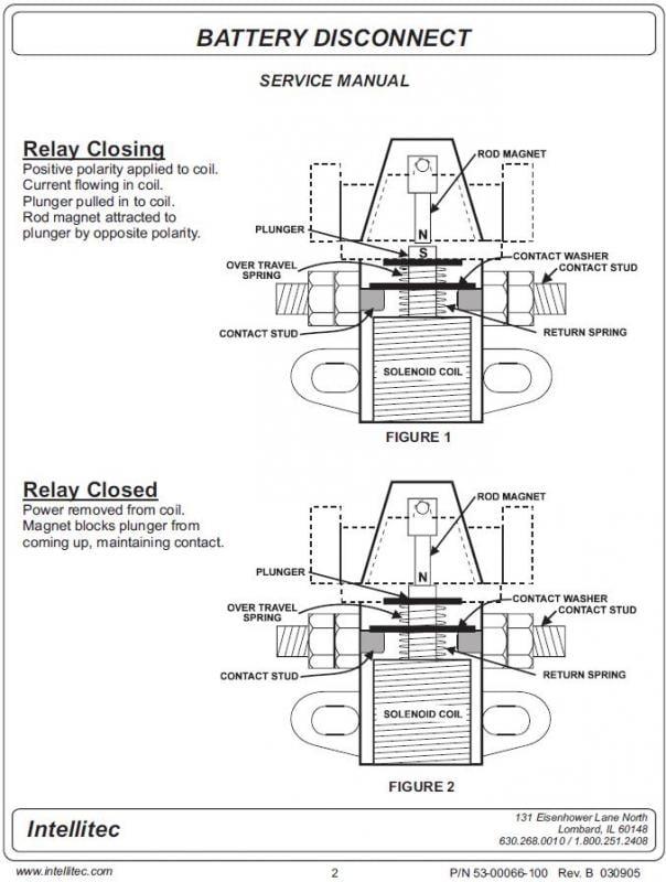 intellitec battery disconnect solenoid wiring diagram rh kitchendecor club intellitec battery disconnect wiring diagram