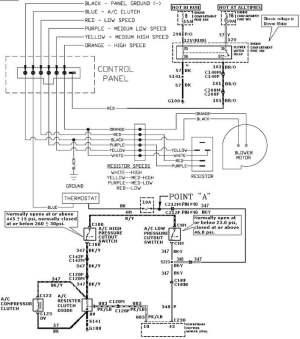 Heater fan motor not working 1994 class a HR  iRV2 Forums