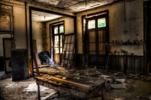 old dirty house