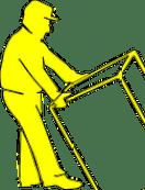 man lifting table