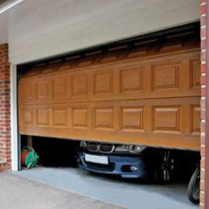opening Garage doors