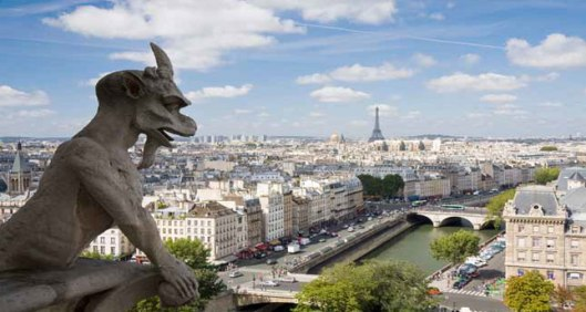 Paris gargoyle Irvina Lew