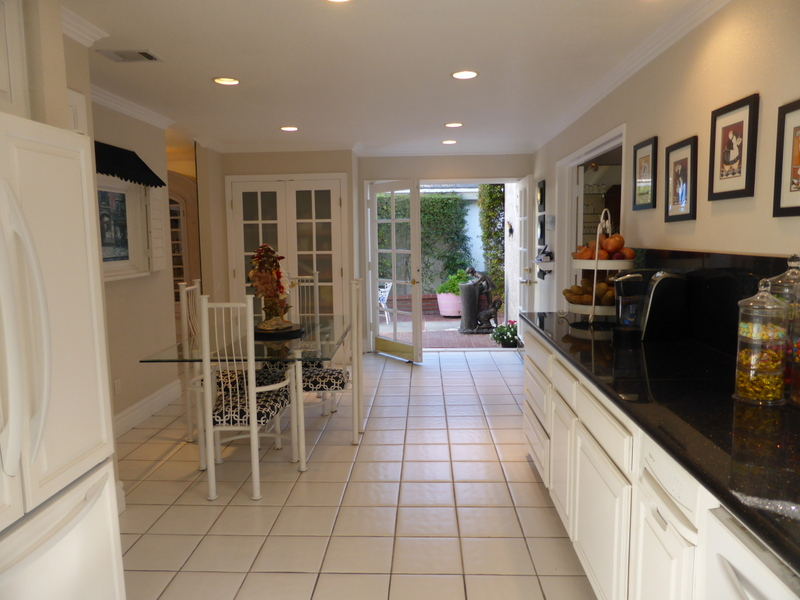 Long Narrow Kitchen And Dining Room