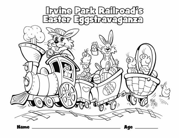 train coloring pages printable # 69