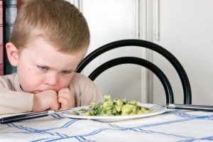 child unwilling to eat