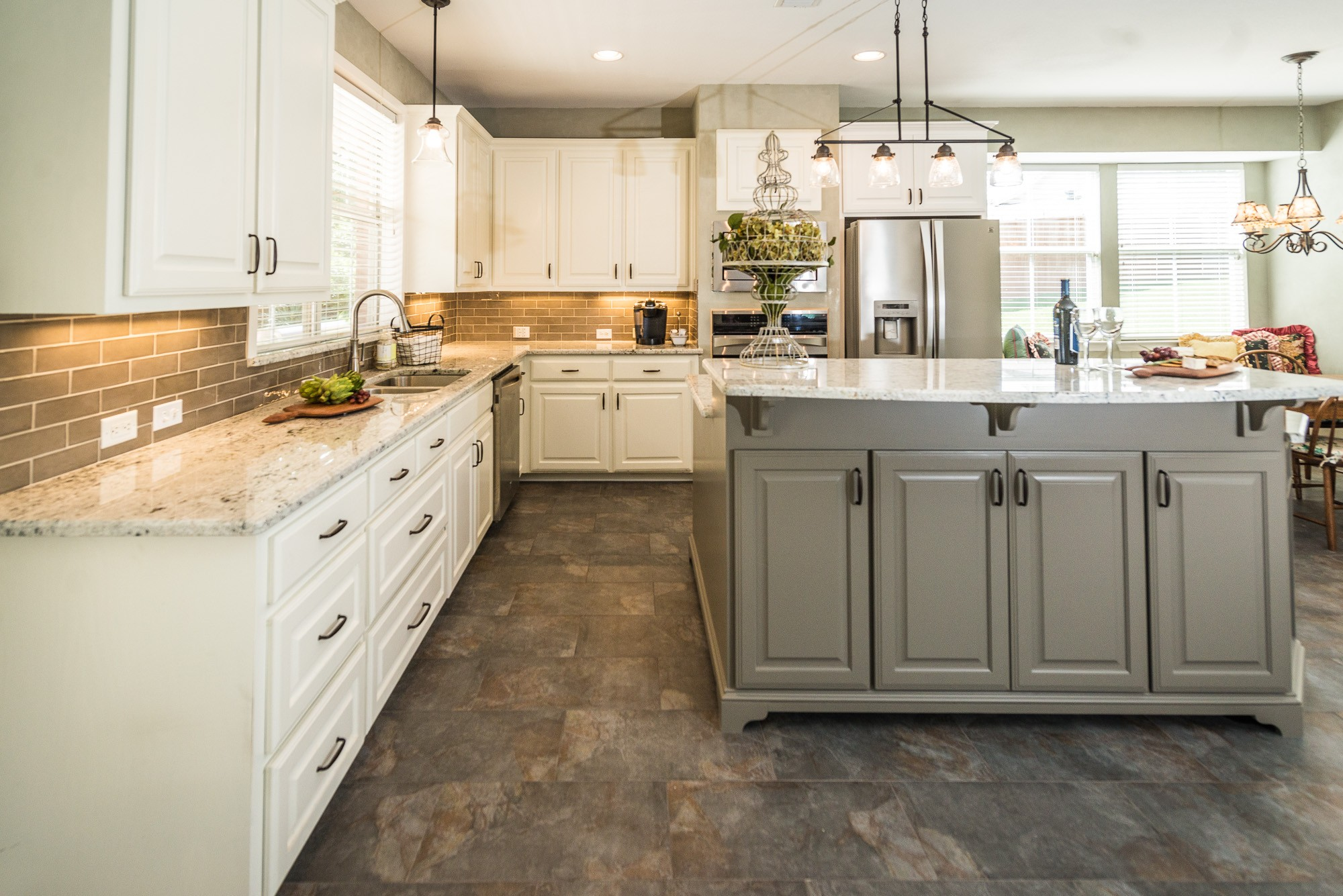 Elegant Windsor Kitchen Before and After   Irwin Construction  Click here to see mobile friendly project gallery