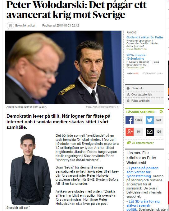 Hur En Beskrivning Av Rysk Informationskrigföring Blir Till Svensk Informationskrigföring