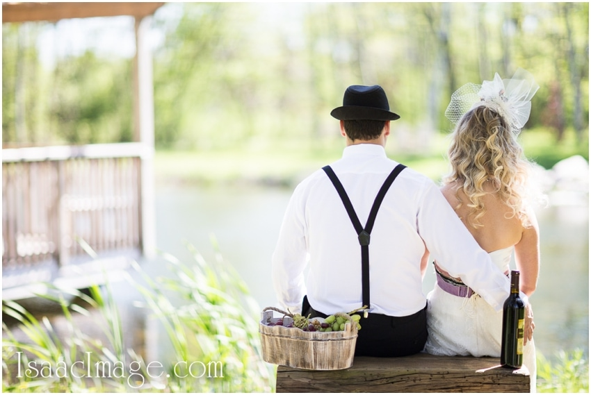 Holland Marsh Wineries engagement picnic