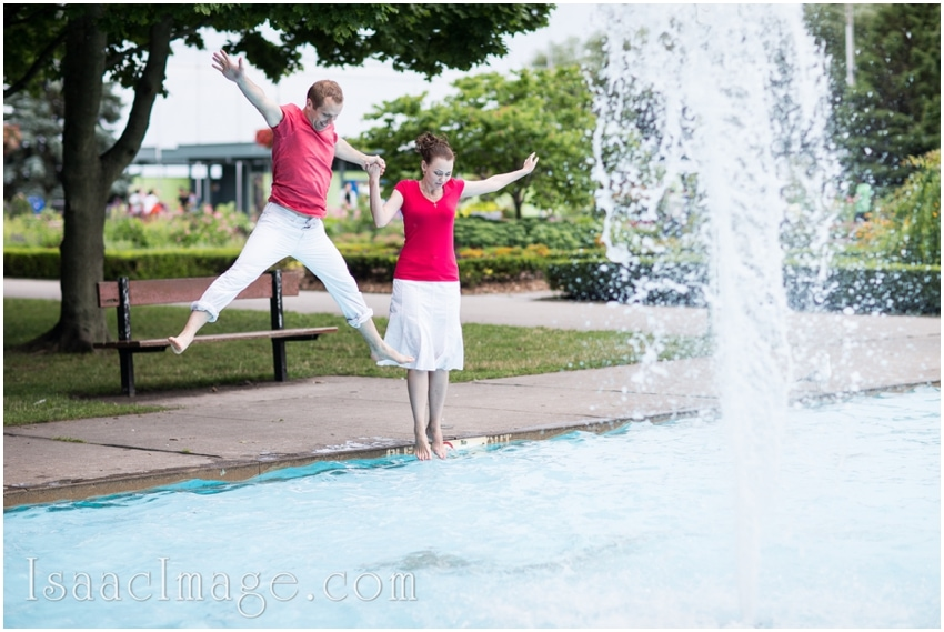 jump toronto islands engagement