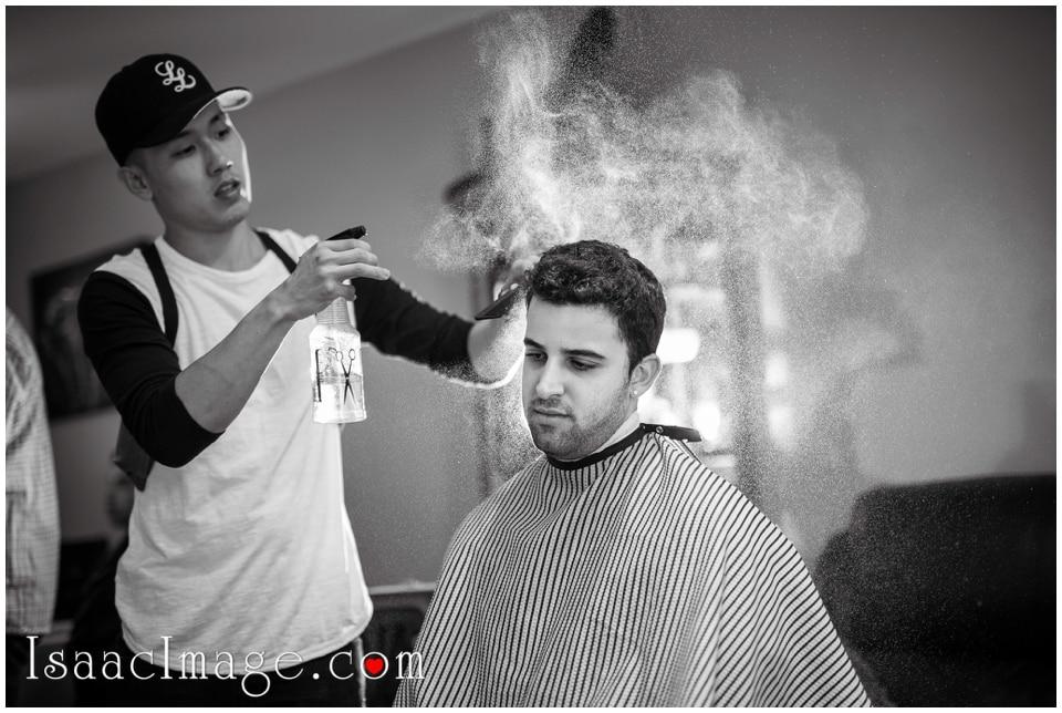 Wedding hair cut